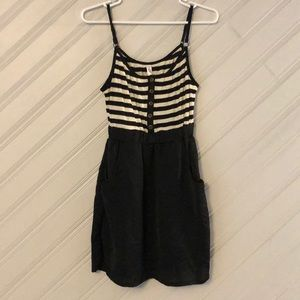 Striped sleeveless summer dress